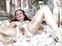 Lady i strømper drømme af fucking