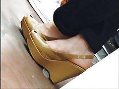 Kiler hæle i en undergrundsbane