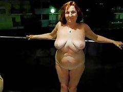 Sexet moden tøs i hotel