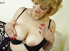 Kinky sexet bedstemor