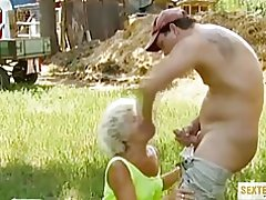 Pervers sex med bedstemor