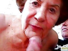 Bedstemor (74) den gamle grådige kokusmatte