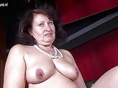 Store sexet mor med sultne vagina